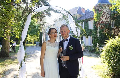 Borne Instashoot pour un mariage
